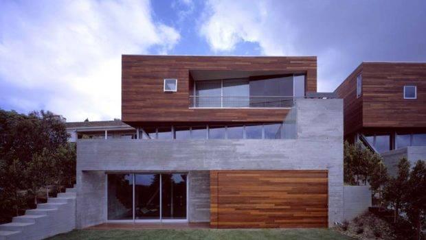 Convertible Adjacent Houses Wood Clad Top Sebastian Mariscal