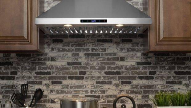Convertible Kitchen Wall Mount Range Hood
