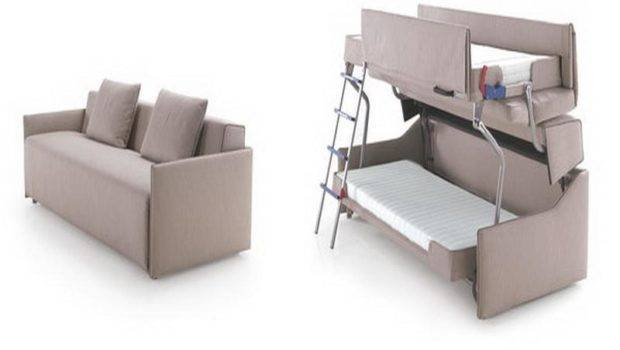 Convertible Sofa Bunk Bed Couch Stroovi