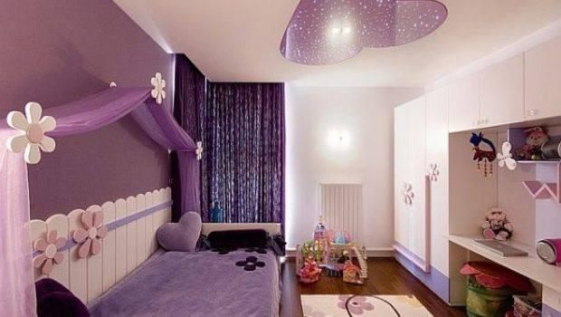 Cool Bedrooms Teenage Girls Purple Color Best