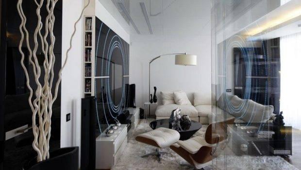 Cool Black White Apartment Interior Design