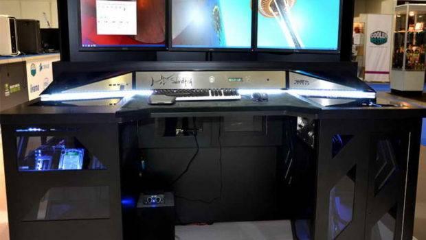 Cool Computer Desk Hutch Desks Digital