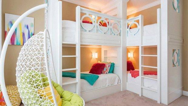 Cool Designs Bunk Beds Four Home Design Lover