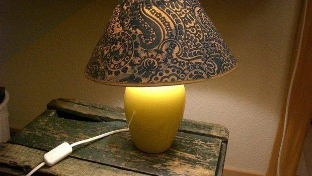 Cool Fabric Lamp Shade Lampshade Decorating Cut Out