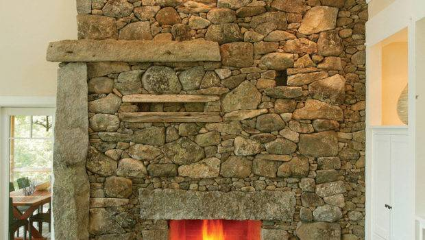 Cool Fireplace Built Mason Lew French Fine Homebuilding