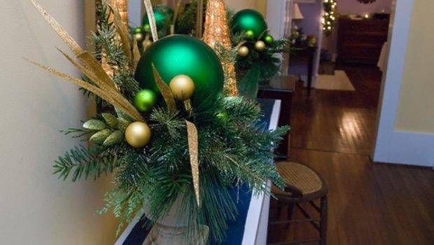 Cool Green Christmas Decorations Digsdigs