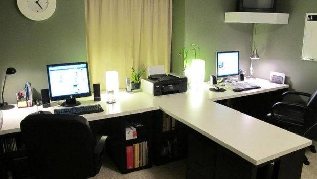 Cool Home Office Ideas Additionally Need Install Light