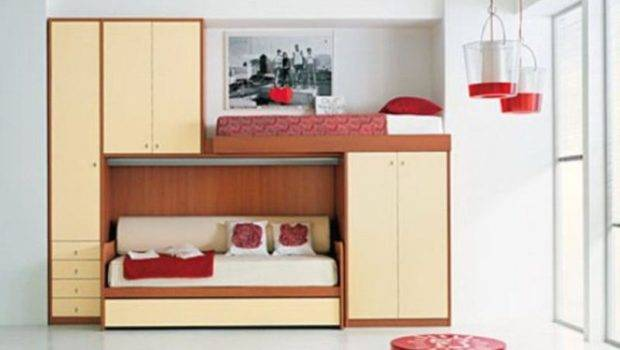 Cool Kids Bunk Beds Teenagers Home Interior Design