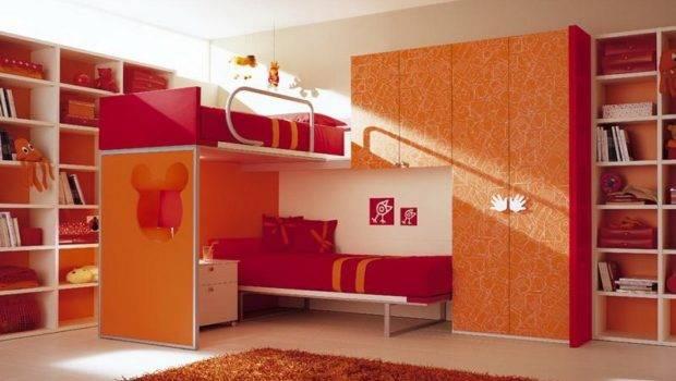 Cool Kids Bunk Beds Unforgettable Room Design Home Interior