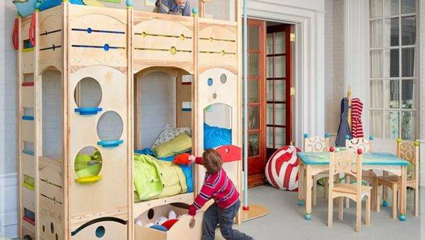 Cool Kids Play Bunk Beds Decorating Uploaded Giesendesign Aug