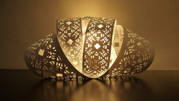 Cool Lamp Shades Designs Curved Shade Design