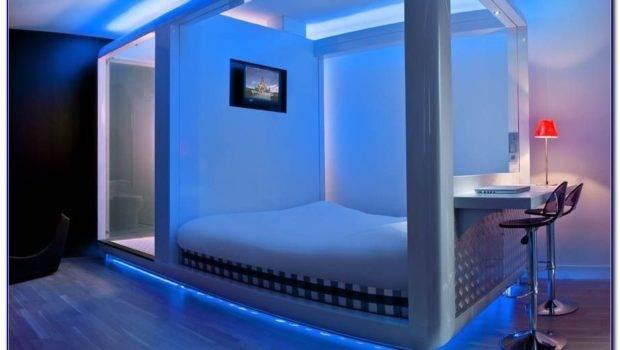 Cool Led Lights Rooms Bedroom Home Design Ideas