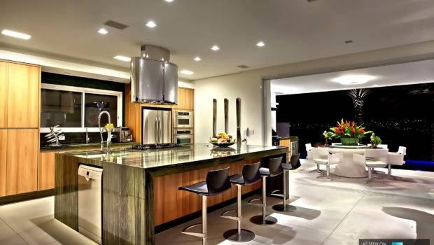 Cool Lighting Beautiful Evening Nuance Worlds Best Kitchens