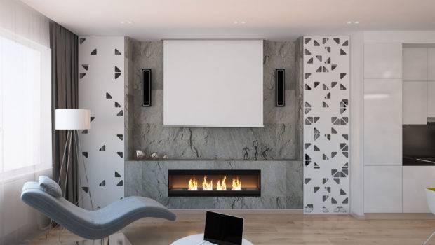 Cool Modern Fireplace Interior Design Ideas