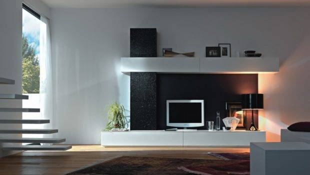 Cool Modern Living Room White Color