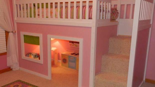 Cool Pink Bunk Beds Plans Stroovi