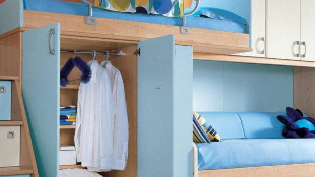 Cool Teen Bedroom Design Ideas Orange Wall Sea
