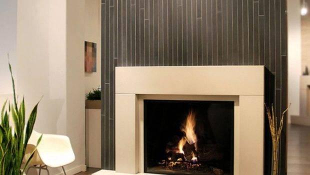 Cool White Grey Modern Fireplace Designs Glass