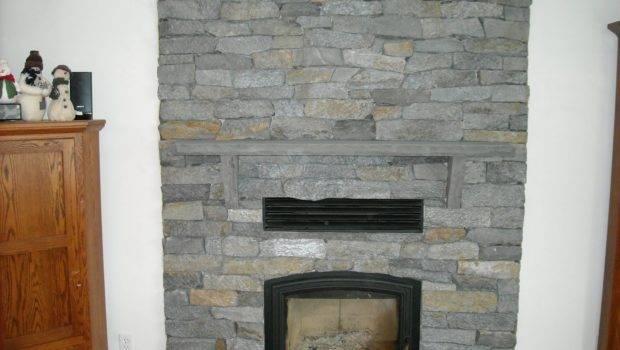 Coppolino Construction Inc Real Stone Veneer Fireplace