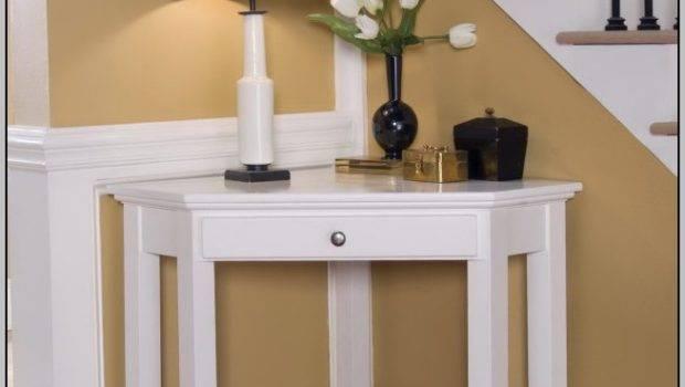 Corner Desks Small Spaces Desk Home Decorating
