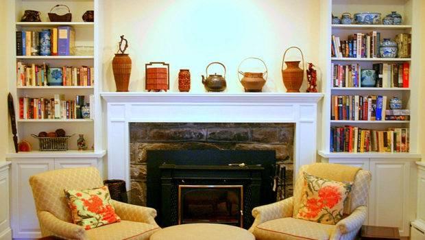 Corner Fireplace Decorating Ideas Home