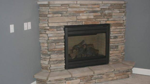 Corner Fireplaces Basements Ideas Stones