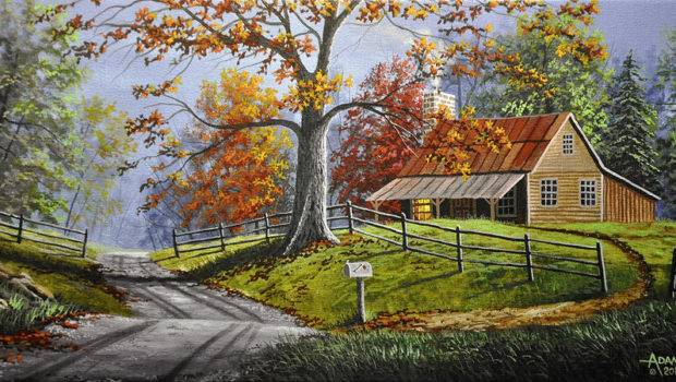 Country Life Large Painting Gary Adams Which Uploaded