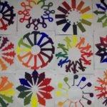 Course Color Wheel Also Seen Here
