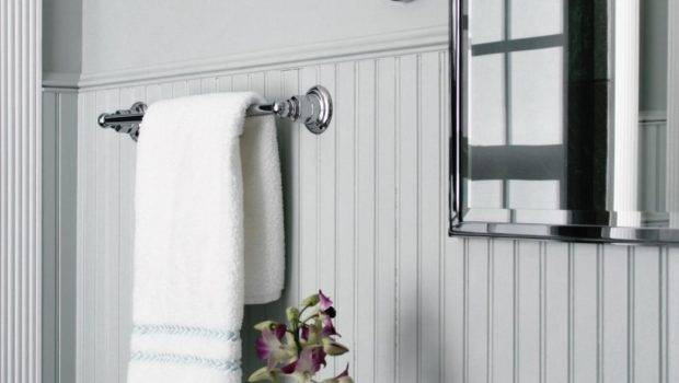 Cover Dated Bathroom Tile Wainscoting Hgtv