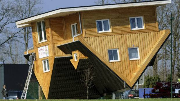 Crazy Upside Down House Germany Photos