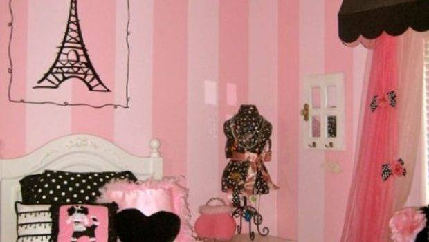 Create Charming Girl Room Paris Style