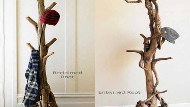 Creative Coat Racks Trees Material