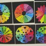 Creative Color Wheel Art Project Cutouts