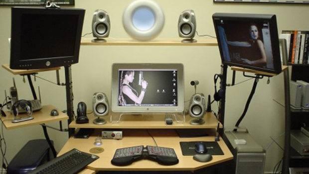 Creative Design Idea Cool Computer Setups Room Office