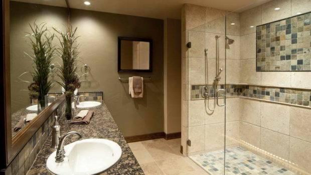 Creative Tile Design Ideas Showers Glass