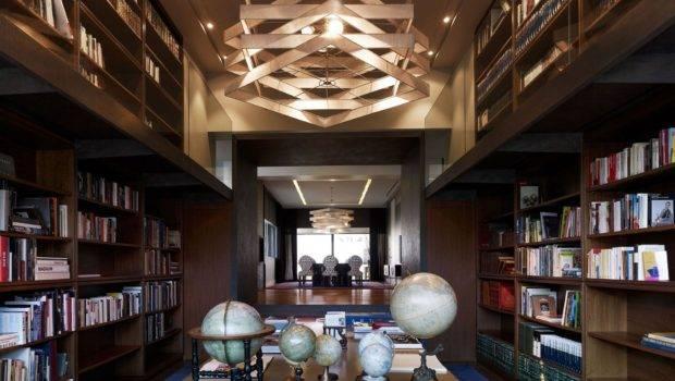 Creative Unique Home Library Room Design