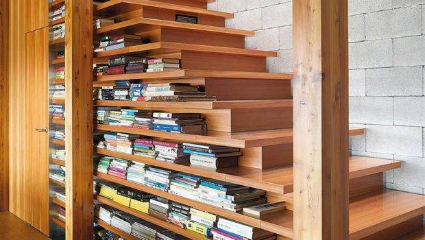 Creative Ways Incorporate Book Storage Around