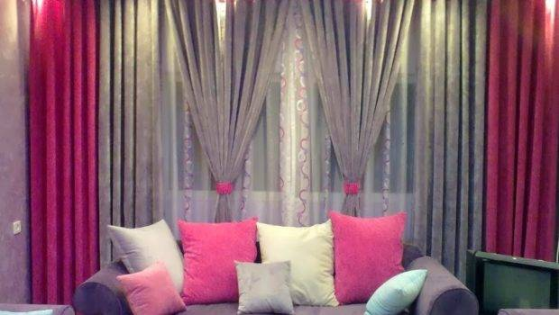 Curtains Living Room Window Material
