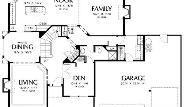 Curved Staircase House Plans Homes Floor