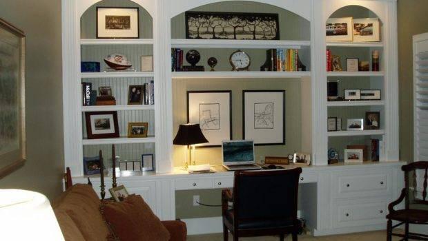 Custom Cabinetry Home Office Dbr Interiors Greensboro