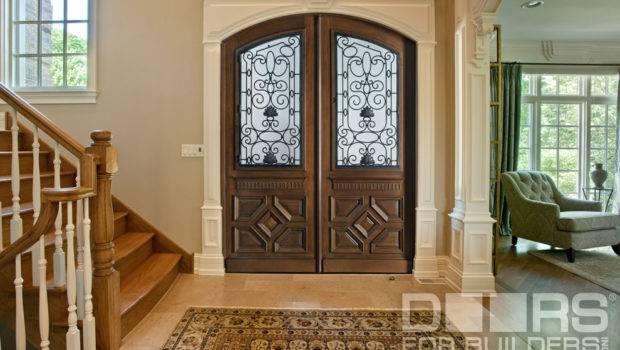 Custom Exterior Doors Front Wood Door