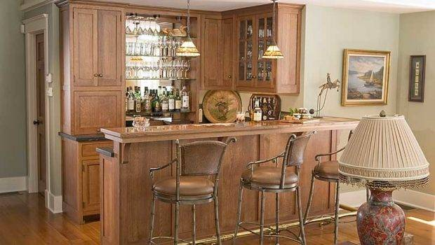Custom Home Bar Cabinetry Mini Cabinets