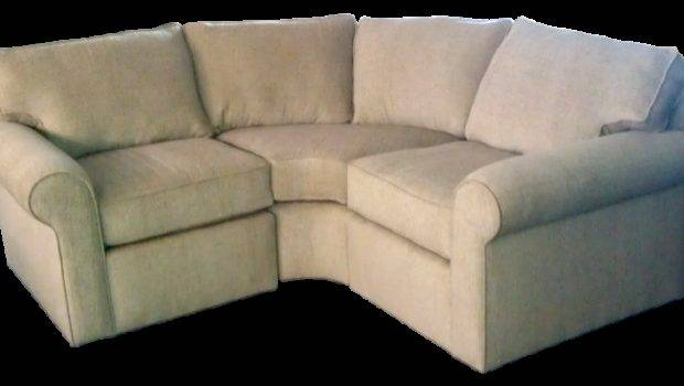 Custom Made Beige Round Corner Sectional Sofa Order
