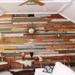 Custom Made Wooden Feature Wall