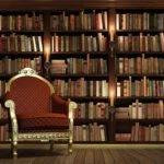 Customized European Retro Bookcase Books Bookshelf Wall