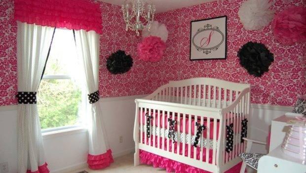 Cute Baby Girl Nursery Ideas Decozilla Theme