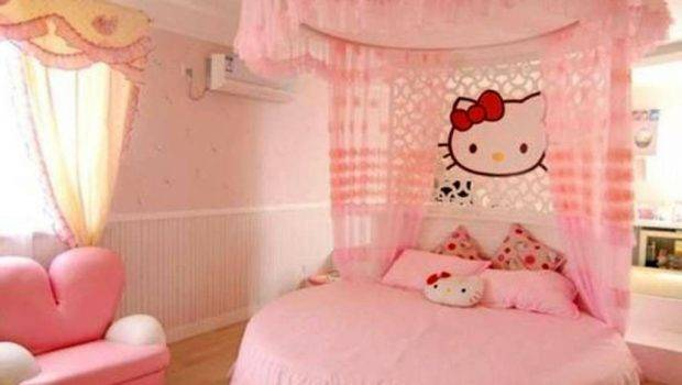 Cute Girls Bedroom Ideas Which Fluffy Pinky All
