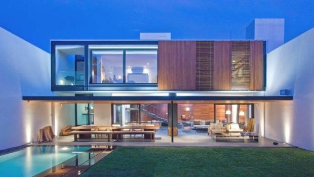 Days Ago Contemporary House Mexico Two Storey Home Design