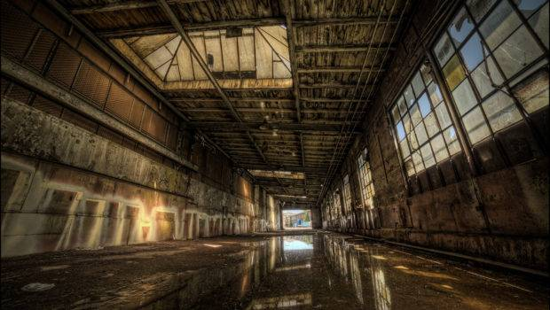 Decay Industrial Plants Hdr
