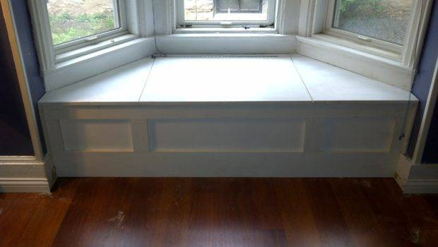 Decor Curved Bay Window Bench Front Country